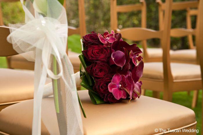 Aya & Richard Wedding in Italy // Bridal Flowers // The Tuscan Wedding