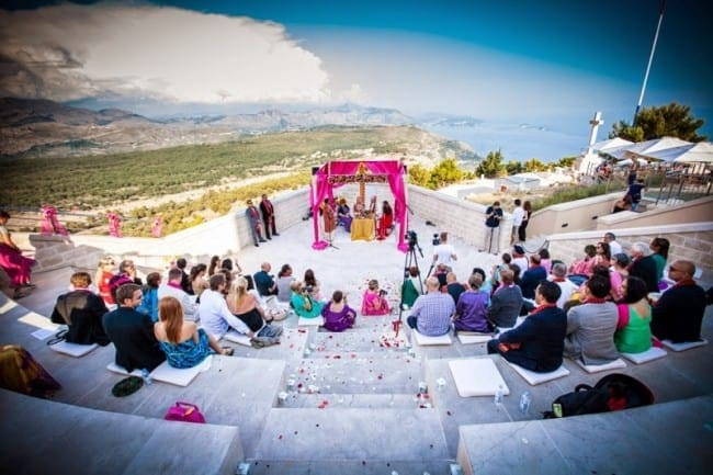 Prince & Ksenia Indian Wedding in Dubrovnik // Dubrovnik Event - Wedding & Event Designers // Svadbas Photography