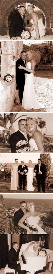 Real Wedding at the Grecian Sands Hotel Cyprus - Lousia & Dave