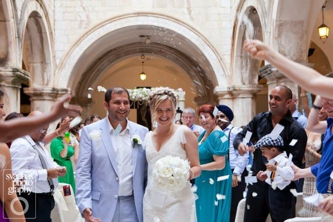 Prince & Ksenia's Russian & Indian Wedding in Dubrovnik // Dubrovnik Event // Svadbas Photography