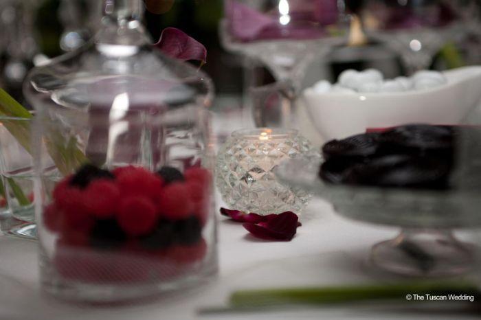 Aya & Richard Wedding in Italy // Sweet Table // The Tuscan Wedding