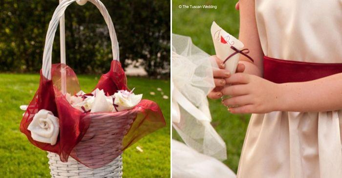 Aya & Richard Wedding in Italy // Rice Cones Wedding Confetti // The Tuscan Wedding