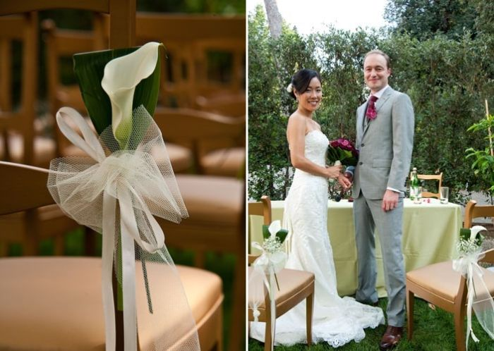Aya & Richard Wedding in Italy // White Flower Decoration // The Tuscan Wedding