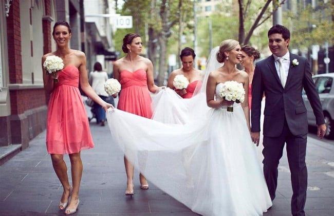 Amy's Melbourne Wedding Dress by Karen Willis Holmes