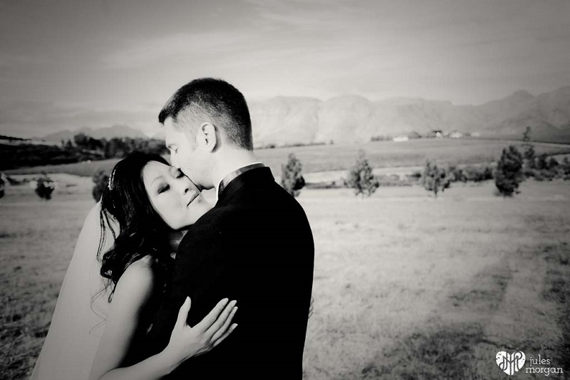 Caroline & John's wedding abroad in a South African winery // Jules Morgan Photography