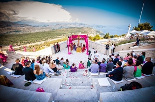 Croatia Wedding Guide // Prince & Ksenia's Indian Wedding// Dubrovnik Event // Svadbas Photography