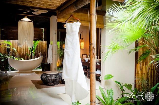 Destination Wedding Dresses - Creative Events Asia - Koh Photography Thailand - weddingsabroadguide.com