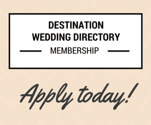 We can connect you with Destination Wedding Couples - Let us help you Grow your Wedding Business.- Find out more about how to be become a member our Destination Wedding Directory.