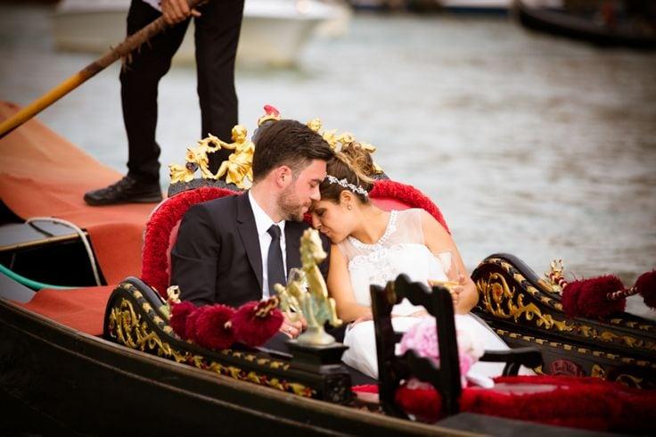 The Best Italy Wedding Locations - Georg & Evelyn's wedding in Venice - AV Photography - weddingsabroadguide.com