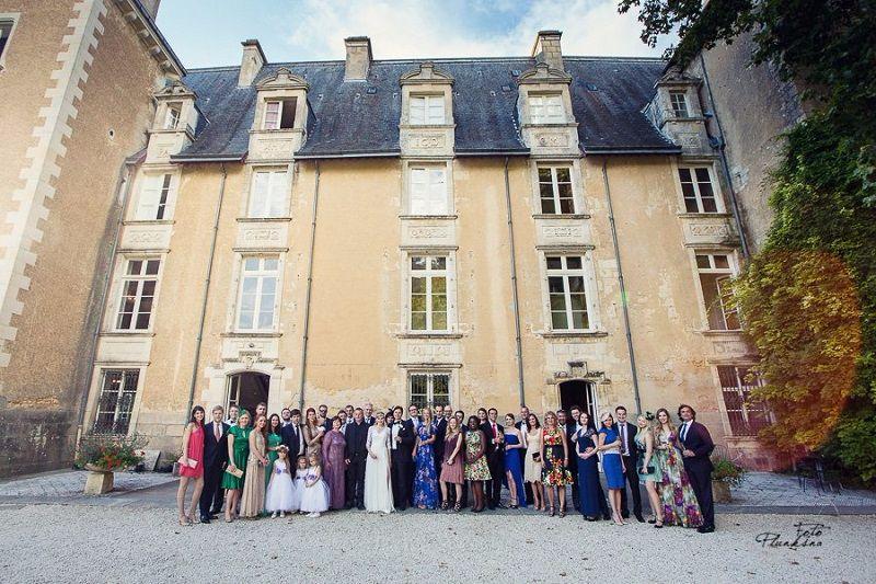 Goda & Bill's Wedding in France by Oliver's Travels // Foto Plunksna