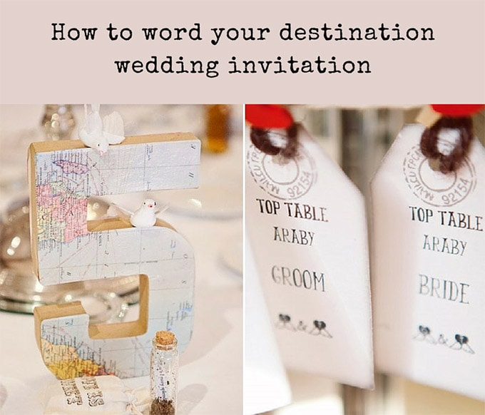 Destination wedding invitation wording weddings abroad guide how to word your destination wedding invitation chantal filmwisefo
