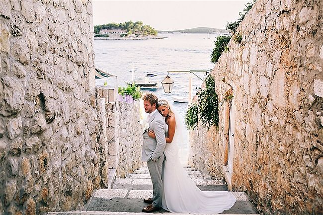 Best Wedding Locations in Croatia 5. Hvar // Robert Pljusces Photography