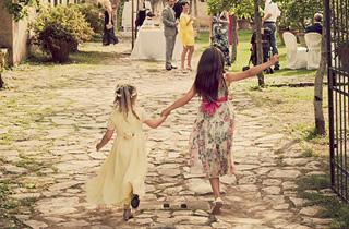 Children at a Wedding Abroad