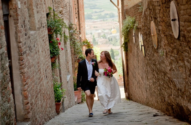 Italy Destination Wedding Planning Tips James And Nikkis Planned By Glam Events In Tuscany