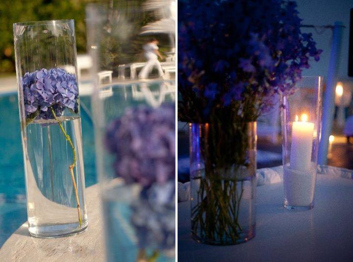 Katy & Tony Beach Wedding in Tuscany // Glam Events in Tuscany // Cristiano Brizzi Photography // Poolside Decor
