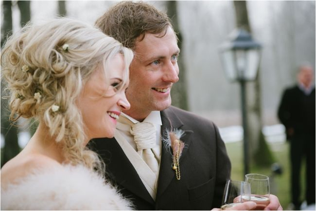 Lesley Ann & Tommy's Winter wedding in Austria // Schloss Prielau // Claire Morgan Photography