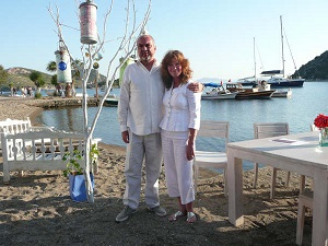 Lesley & George Real Experience EGG Ltd Wedding Planner Turkey