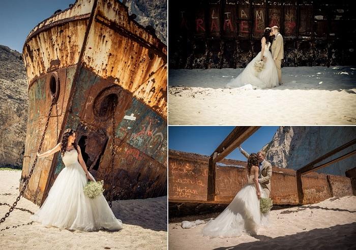 Polina Ian S Beach Wedding In Zante Zakynthos Weddings By Tsilivi