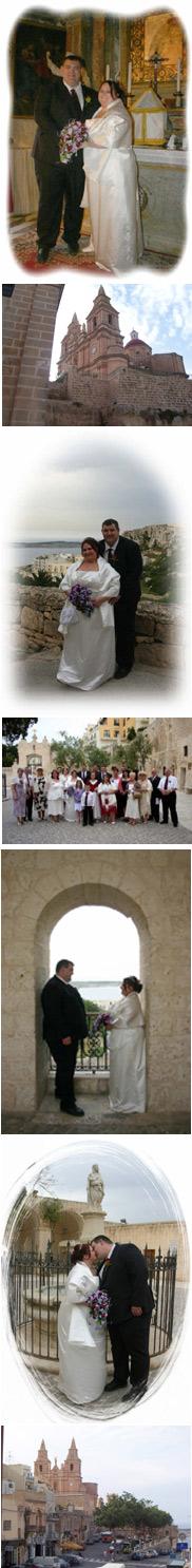 Racheal and Philip wedding in Malta