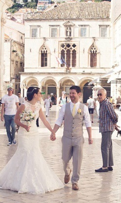 Real Experience Col & Jen Dubrovnik Event - Wedding Planners Croatia