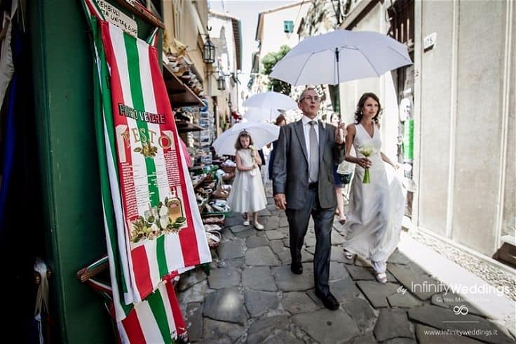 Real Wedding in Portovenere Hannah & Jeremy// Infinity Weddings & Events // Marco Migilianti