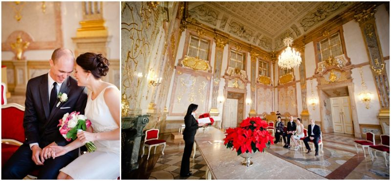 Erin & Brett Winter Elopement Salzburg Austria // Claire Morgan Photography