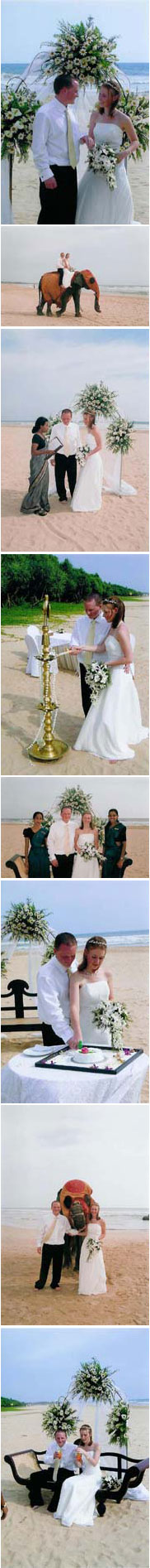 Real Wedding in Sri Lanka Sian and Michael