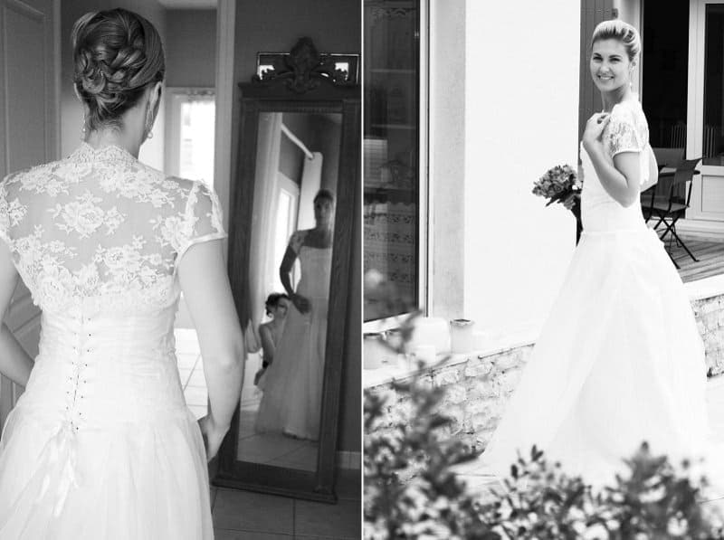 Stephanie & Benoit's wedding in France // Et Voila Weddings // Astrid Templier