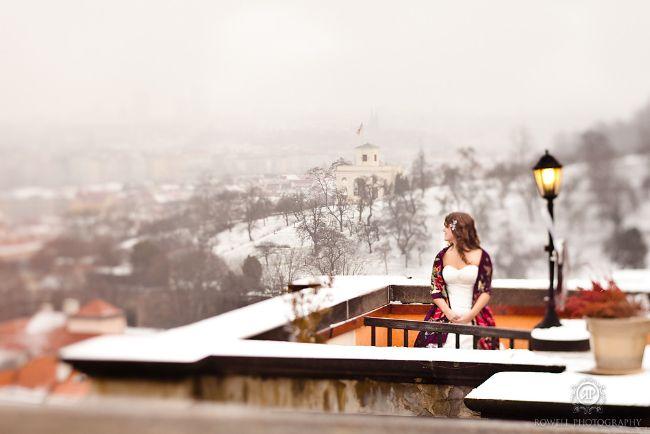 Tara & Ryan's Wedding in Prague // White Prague Wedding Agency // Rowell Photography