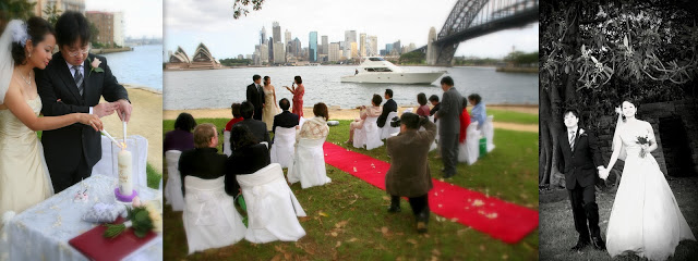 Top 10 - weddings in Australia money saving tips - Sydney Harbour wedding by justgetmarried.com - weddingsabroadguide.com