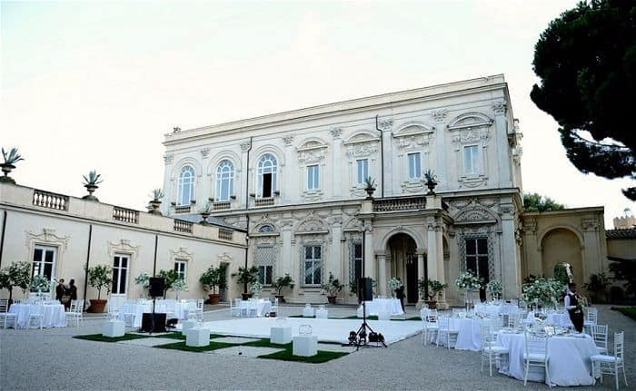 Villa Weddings in // Italy Italy Italian Weddings // Nabis Photography // Villa Aurelia