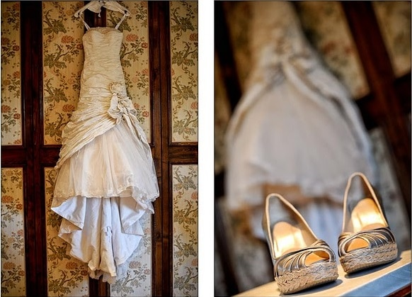 Reshma's Ian Stewart Bridal Gown for her wedding in Italy // Infinity Weddings // Alfonso Longobardi Photography