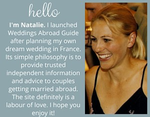 Welcome to Weddings Abroad Guide a website dedicated to those planning a destination wedding providing independent information & advice for those planning a wedding abroad.