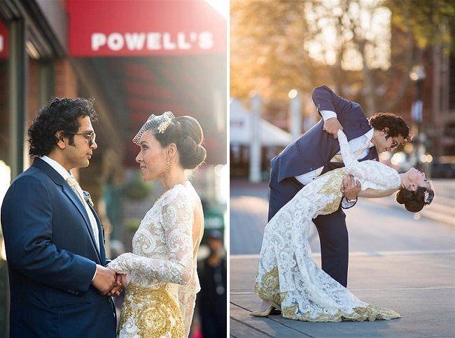 Jessica & Chitan's Civil Wedding in Portland Oregon, Wedding Stationery & Invitations by Adorn Invitations, Wedding Photography by Powers Photography Studio