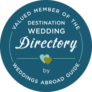 Member of the Destination Wedding Directory by Weddings Abroad Guide - badge
