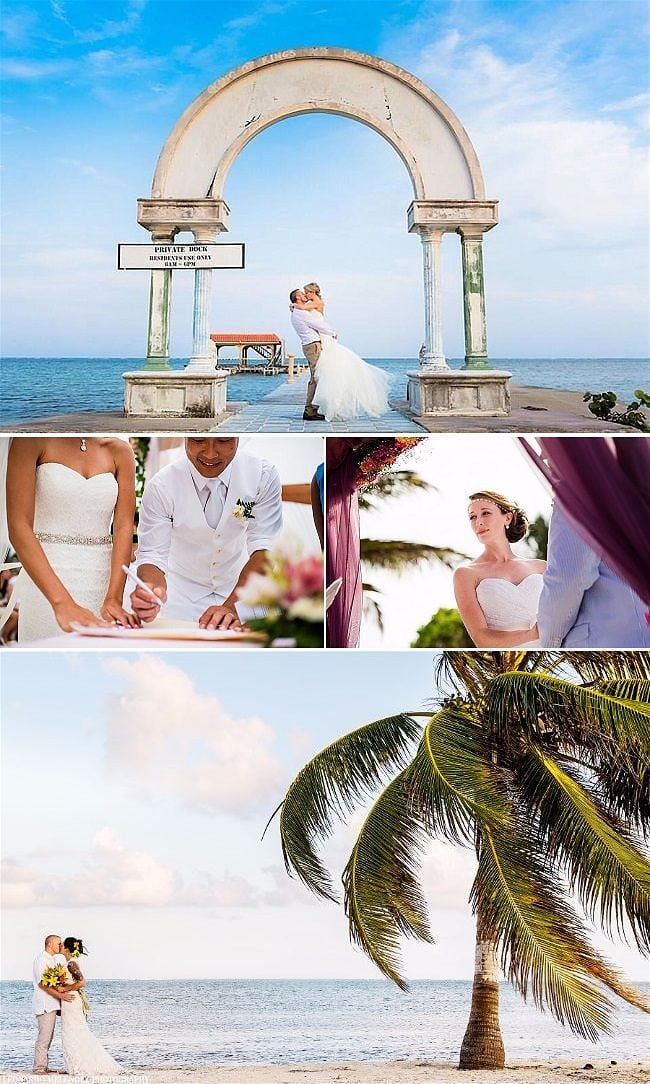 An Insiders Guide to Belize Destination Weddings by Sandy Point Resorts Photography by Leonardo Melendez
