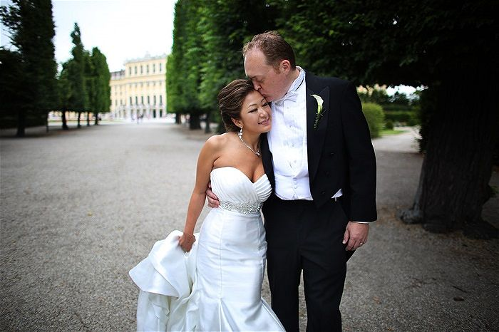Britta & Graydon's Destination Wedding in Vienna Austria // Horia Photography Destination Wedding Photographer Austria // High Emotion Weddings - Planners Austria