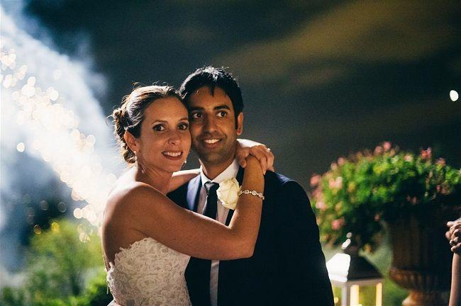Claudia & Tarek's Villa Wedding in Florence // Lisa Poggi Photography & Matteo Trombello // The Tuscan Wedding // Momo Film Factory