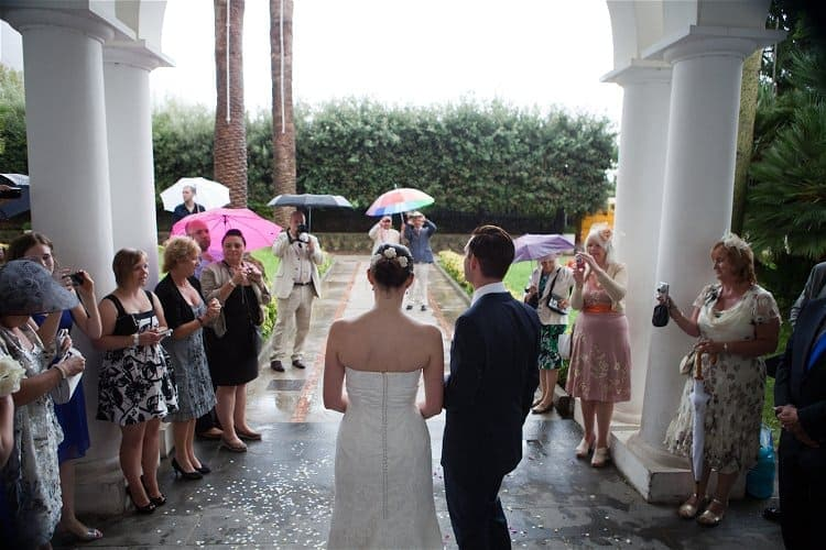 Contingency Planning - What to do if it rains on your wedding day // Accent Events // Alfonso Longobardi Photography // Lisa and John's wedding Italy