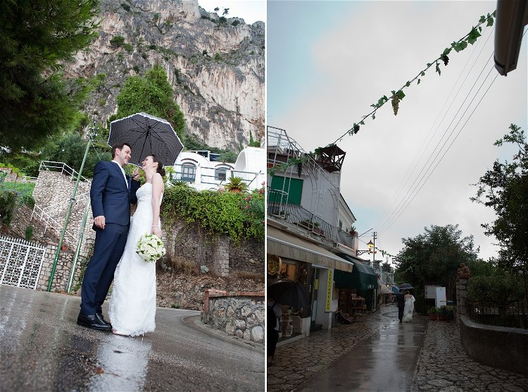 Contingency Planning - Wedding Day Rain // Accent Events // Alfonso Longobardi Photography // Lisa and John's wedding Italy