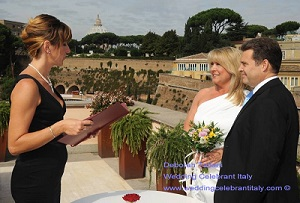 Leslie & Phil Symbolic Wedding Ceremony Italy // Daborah Taliani Wedding Celebrant Italy