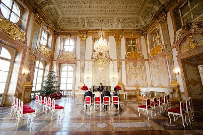 Wedding Abroad Civil Ceremony | Erin & Brett's Destination Wedding in Austria | Claire Morgan Photography| Grenzelos Events & Lifestyle