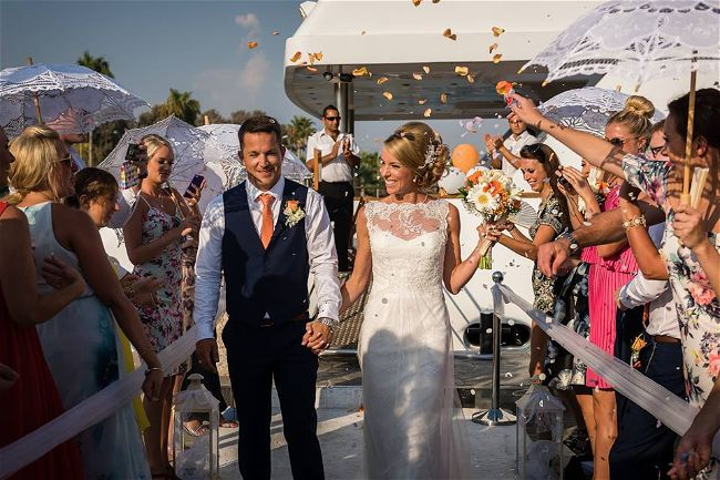 5 Exceptionsl Exclusive Use Wedding Abroad Venues in Europe // Exclusive Yacht Weddings Wedding & Reception Venues Cyprus