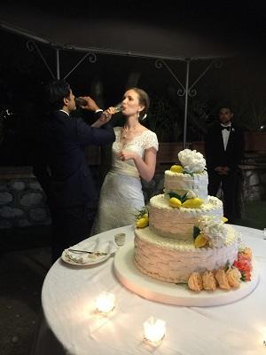 Georgina & Amir's Wedding by Wedinitaly
