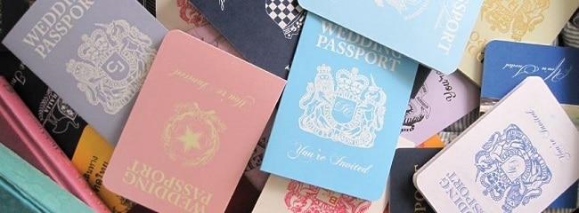 Destination Wedding Stationery by weddinginvitationdesigner.com