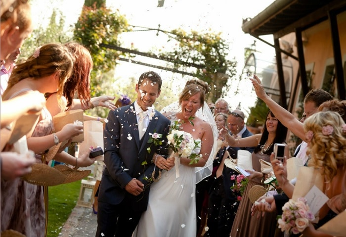 Italy Wedding Ceremony Glam Events in Tuscany | Cristiano Brizzi Photography |weddingsabroadguide.com