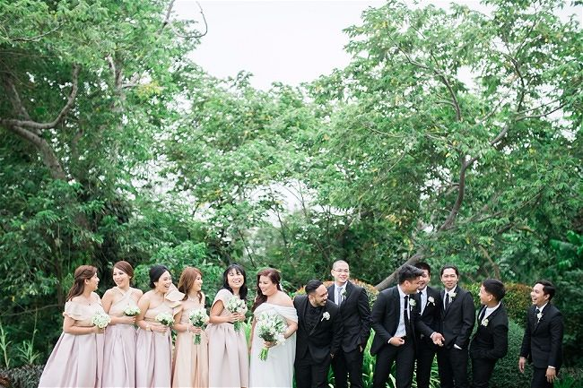 Joanarc & Brian's Wedding, Tagaytay Highlands Philippines // Toto Villaruel Photography