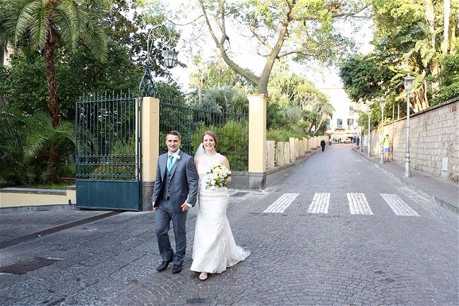 Katie & Sam's Autumn wedding in Sorrento Italy // Wedding at the Bellevue Syrene // Accent Events Italy // Francesco Quaglia