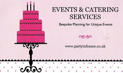 Party in France Wedding Event Planning & Catering Services in South West France