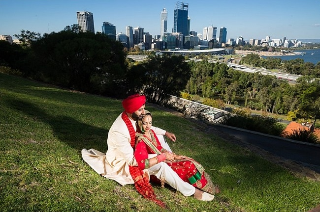 Anoop & Supreet Sikh Indian Wedding in Perth // Southern Light Photography // Perfect Media Films